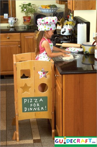 Little Partner S Learning Tower And The Guidecraft Kitchen